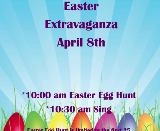 Easter egg hunt/movie